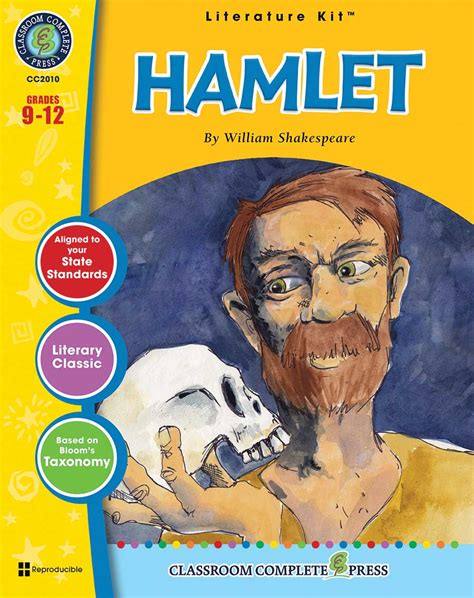 printable version of hamlet hamlet novel study guide grades 9 to 12 print book