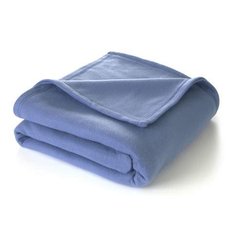 Blaue Decke by Martex Soft Fleece King Slate Blue Blanket
