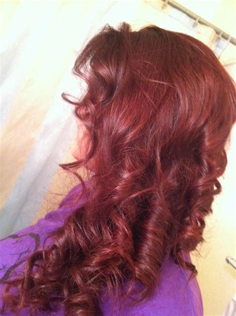 how to what hair color looks best on you 20 mahogany haircolor for looks
