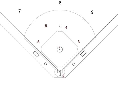 baseball position chart template 2010 lake worth mustang yankees season baseball