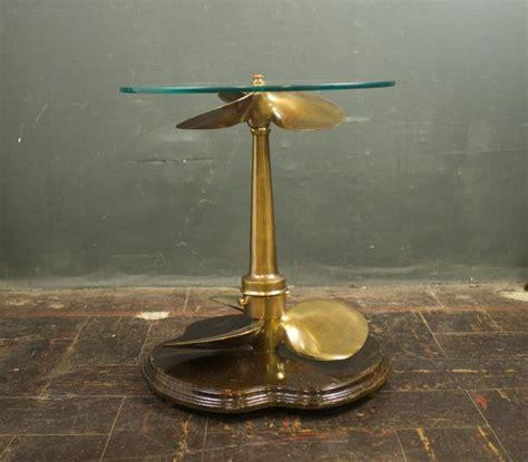 boat propeller furniture vintage brass boat propeller side table boat propellers