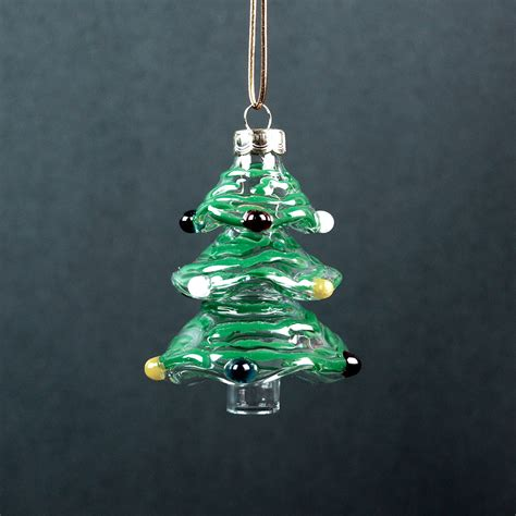 hand blown glass christmas tree ornaments gallicchio glass