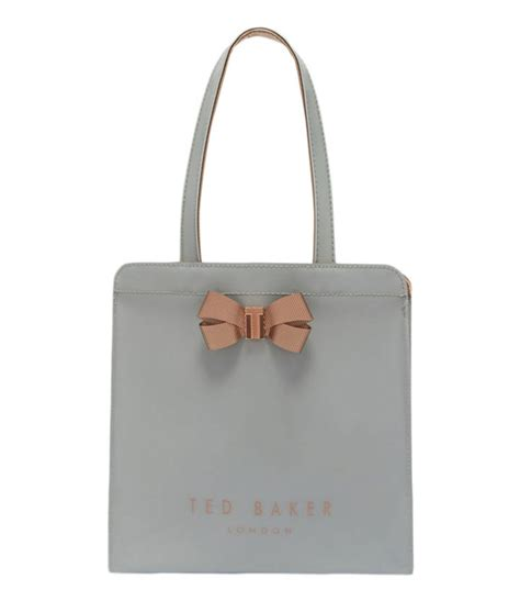 Ravee Bag From Ted Baker by Kriscon Small Icon Shopper Mid Grey Ted Baker The