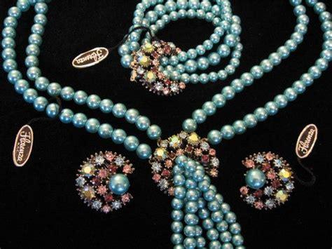Florenza Set sale vintage florenza jewelry set florenza rhinestone