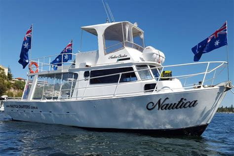 fishing boat hire busselton perth boat charters and hire nautica swan river rottnest