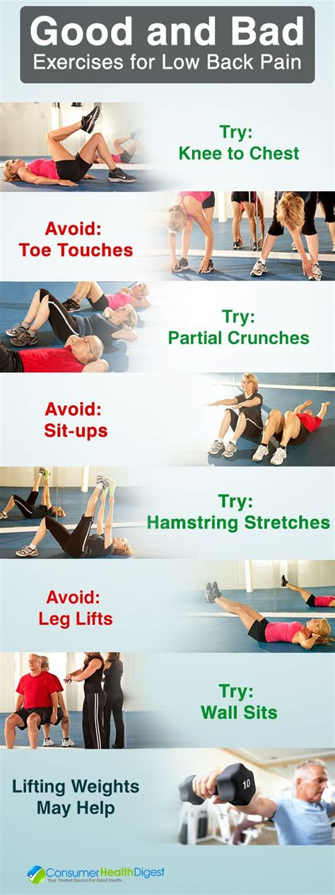 17 best ideas about lower back exercises on
