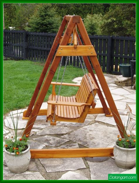 how to build a yard swing free diy furniture plans how to build a swing a frame 3