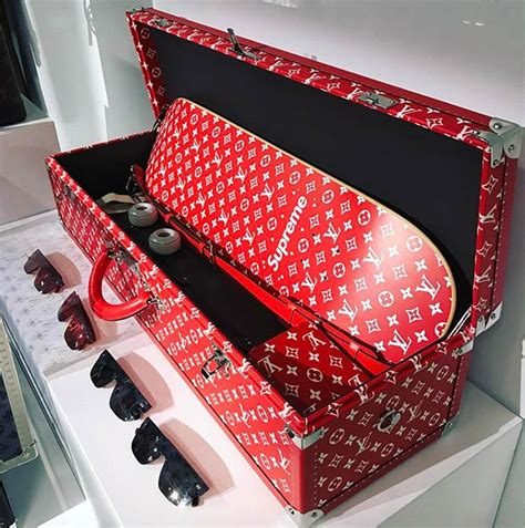 supreme skateboarding supreme louis vuitton lv shoes look sneakernews