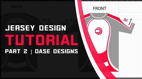 illustrator jersey tutorial esports jersey design part 2 adobe illustrator tutorial