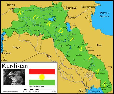 kurdistan map kurdistan map