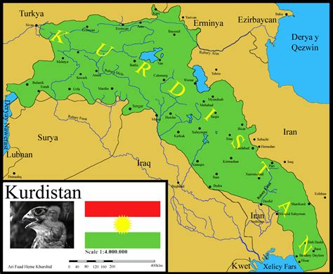 map of iraqi kurdistan kurdistan map
