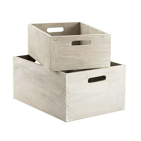 bench with storage bins whitewashed wooden storage bins with handles wooden