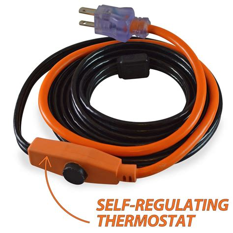 heat trace cable lowes heated garden hose home outdoor decoration