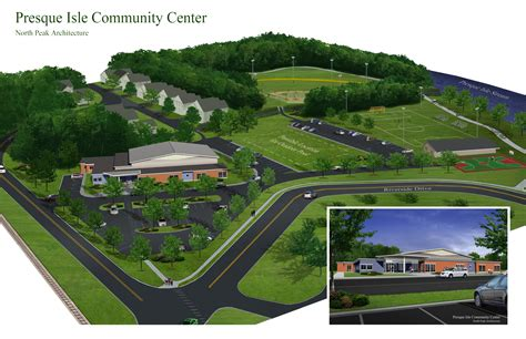 home concept design center presque isle community center show your support