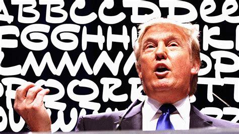 donald trump font donald trump s crazy handwriting is now a free font cal