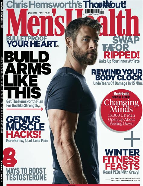 mens health uk november    magazine