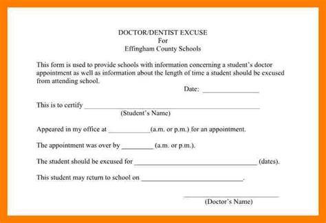 Excuse Letter Check Up duty checklist template tolg jcmanagement co
