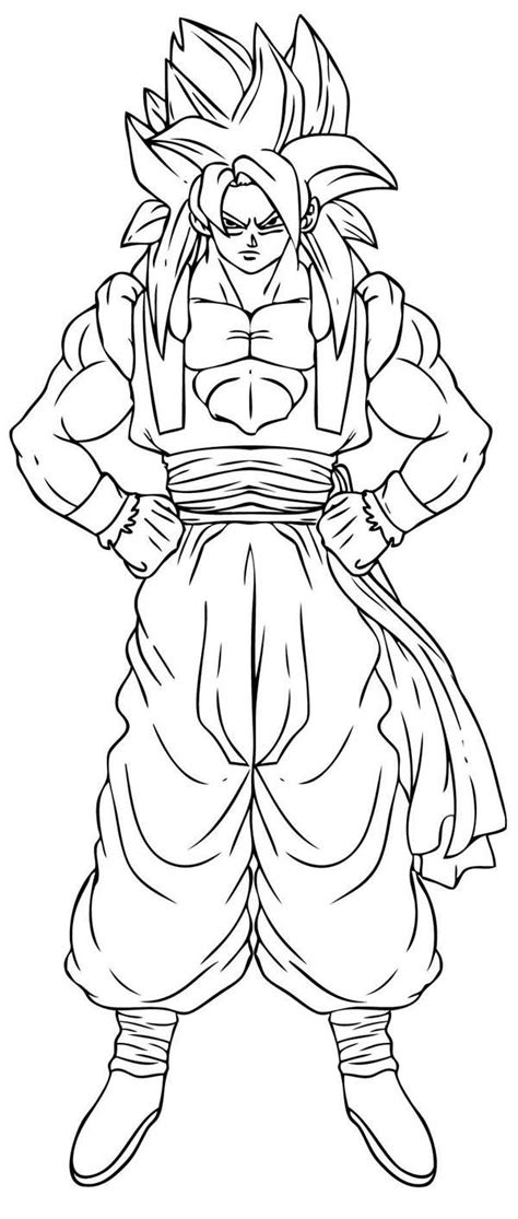 dragon ball z goku super saiyan 2 coloring pages dragon ball z goku super saiyan 2 coloring pages