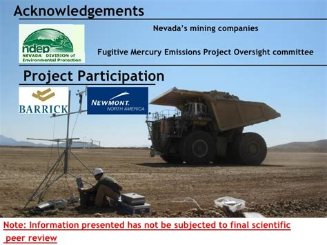 Of Nevada Reno Time Mba by Fugitive Mercury Emissions From Nevada Usa Gold Mines