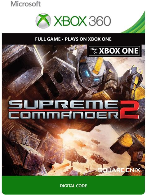 buy supreme commander 2 buy supreme commander 2 xbox one 360 digital code and