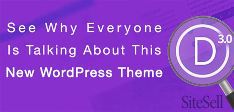 See why everyone is talking about this new wordpress theme the sitesell blog