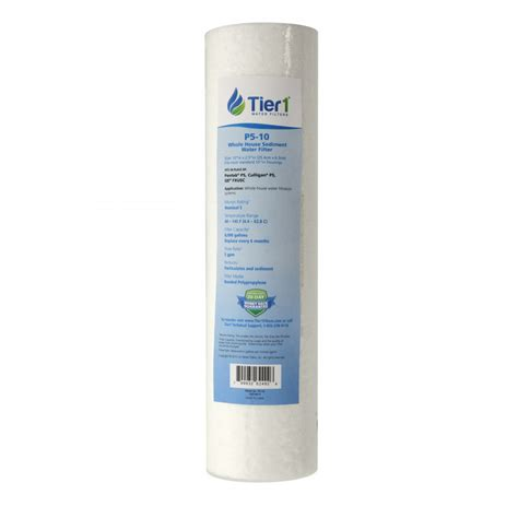 Filter Air Water Filter Housing 10 Puretrex 1 p5 pentek comparable whole house replacement sediment filter cartridge by tier1