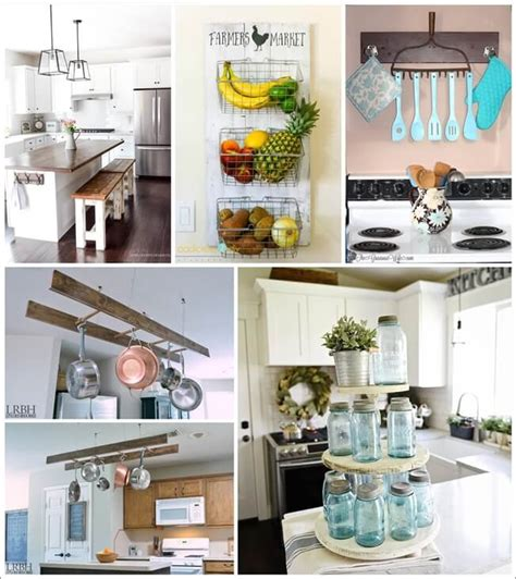 diy kitchen decor ideas diy farmhouse kitchen decor projects