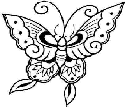 gambar kupu kupu hitam putih terbaru gambarcoloring