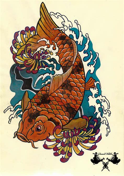 japanese koi tattoo wallpaper japanese koi tattoo wallpaper www pixshark com images