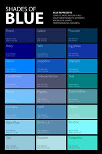 blue shades color shades of blue color palette poster graf1x com