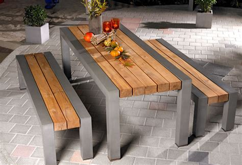 how to make a concrete bench top outdoor dining bench seating glue wood to concrete