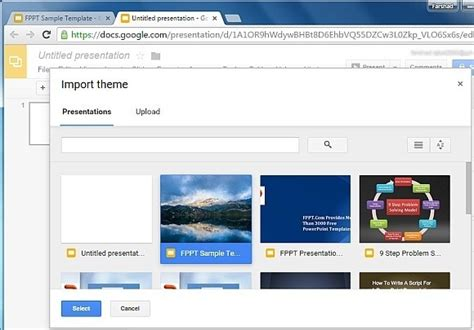 themes for google slides to import how to import theme slides in google slides