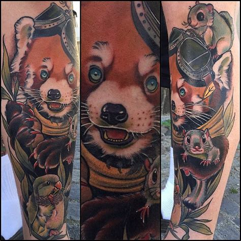 panda traditional tattoo exotic animal tattoos that will inspire you to get inked