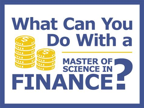 What Can You Do With Mba Finance Degree by Master Degree Finance Jwu