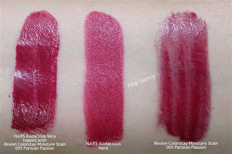 Revlon Moisture Stain revlon colorstay moisture stains in 005 parisian and 010 la exclusive ang savvy