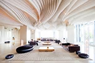 innovative design hotel lobby bars