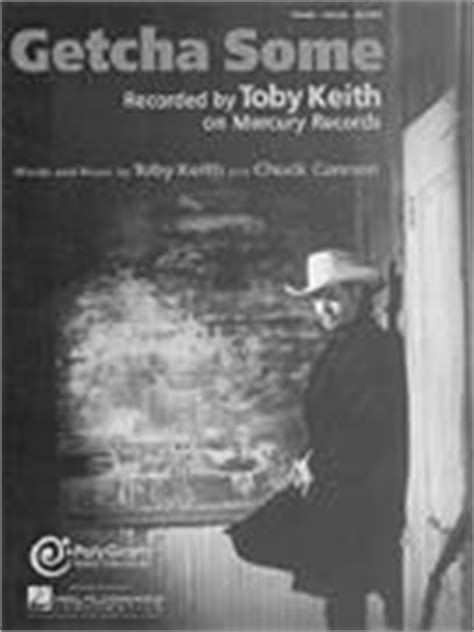 toby keith getcha some getcha some sheet music by toby keith sku 00351922