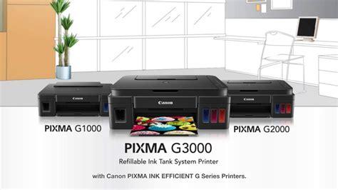 Printer Canon Seri G canon pixma ink efficient g series printers