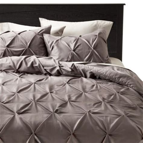 pinched pleat comforter pinched pleat comforter set threshold guest rooms
