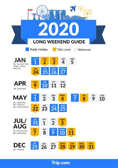 singapore  public holidays  long weekend calendar travel notes  guides tripcom