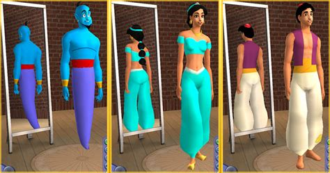 Sims 2 Genie L by Mod The Sims And Genie From Disney S