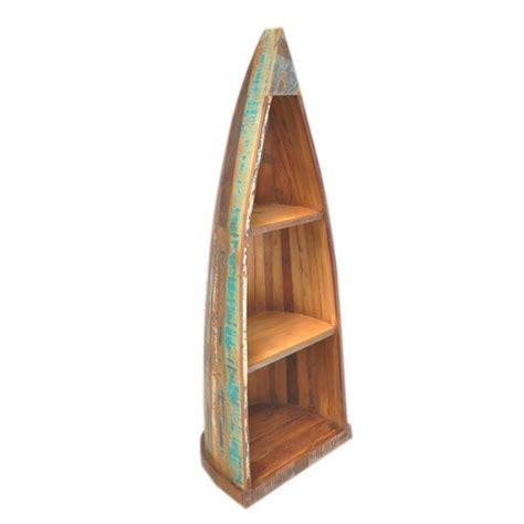 wood boat bookshelf wooden boat bookshelf at rs 13750 piece wooden
