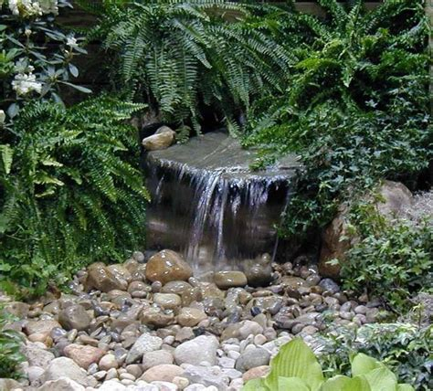 diy backyard waterfall custom pro diy pondless waterfall kit w grate 2000gph pump
