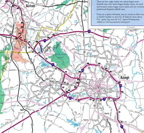 highway map of carolina interstate guide interstate 540 carolina