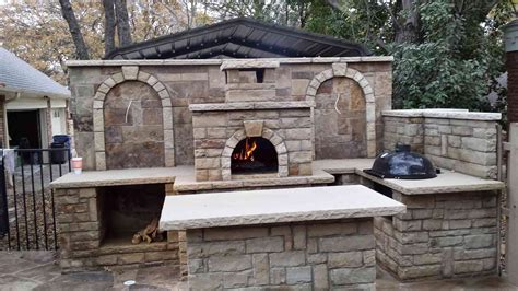 brick oven backyard diy backyard wood fired pizza oven do it your self