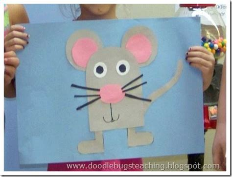 mouse craft mouse craft for letter m or next year when i spend at