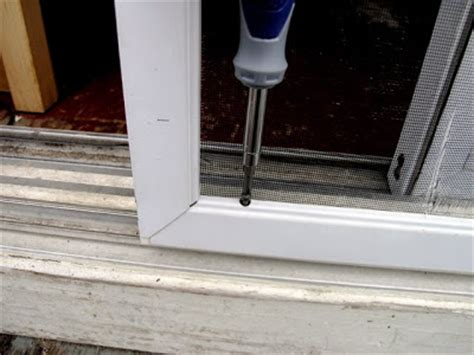 How To Remove A Sliding Screen Door by Dover Projects How To Repair A Sliding Screen Door