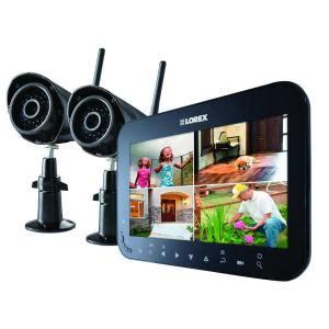 lorex wireless 4 channel vga surveillance system with 2