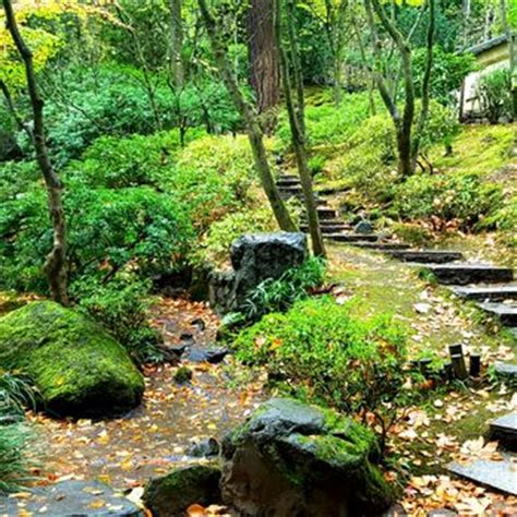 portland japanese garden botanical gardens southwest