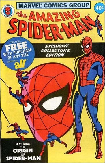 Detergent Giveaway - amazing spider man all detergent 1 a jan 1979 comic book by marvel